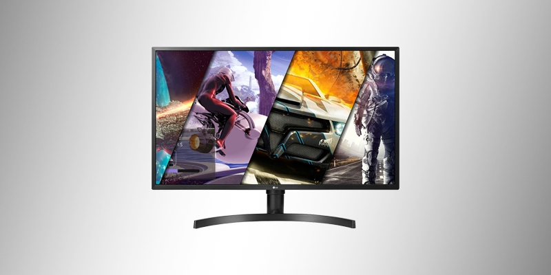 Monitor LG LED 31.5' Widescreen, 4K, FreeSync, Som Integrado, Altura Ajustável - 32UD59-B