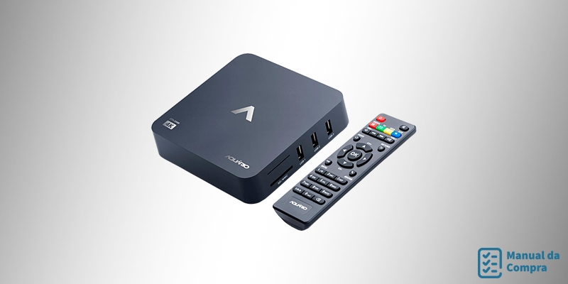 TV Box Smart Aquário