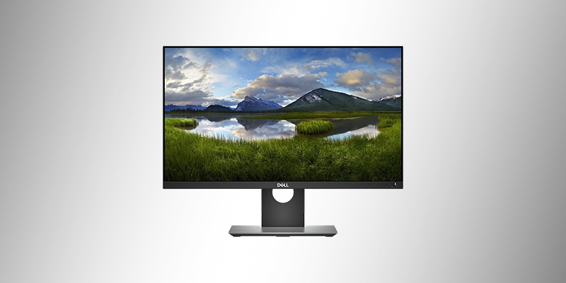 Monitor Profissional LED QHD IPS 23,8' Widescreen Dell P2418D Preto