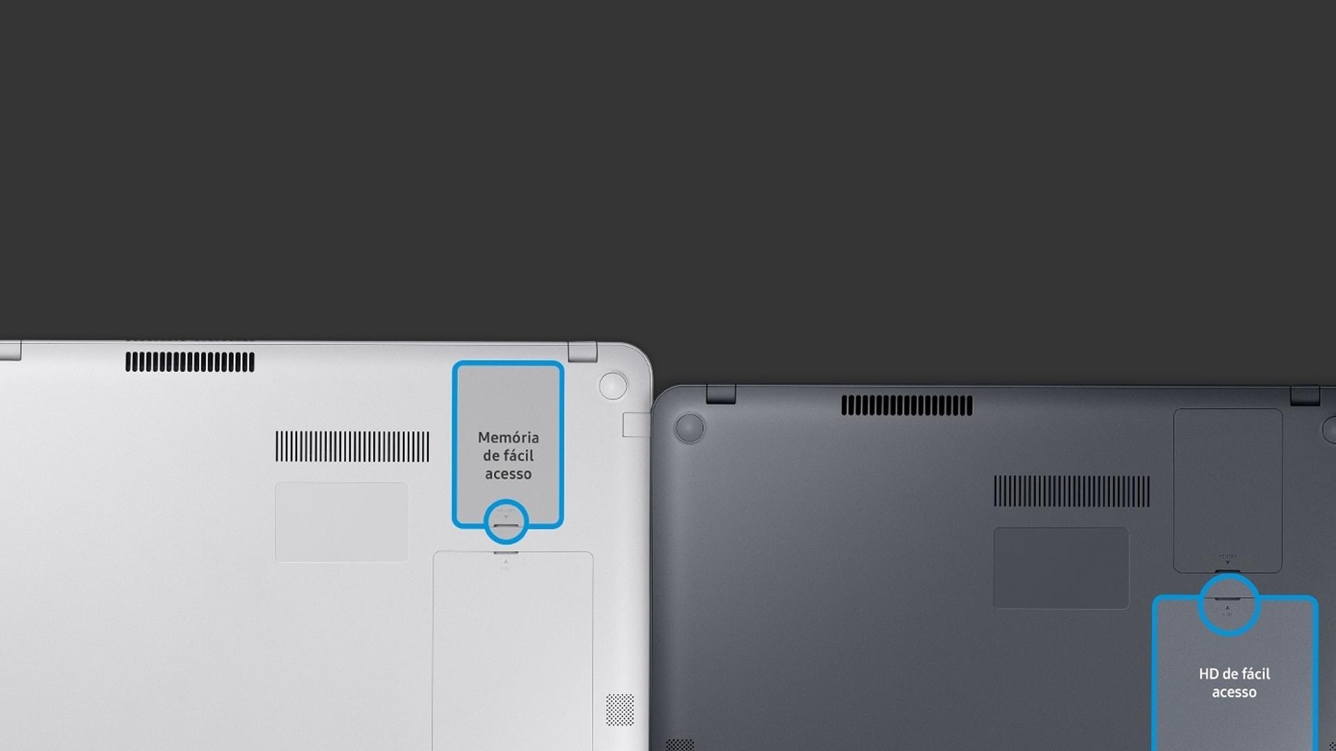 Traseira do Samsung essentials e30