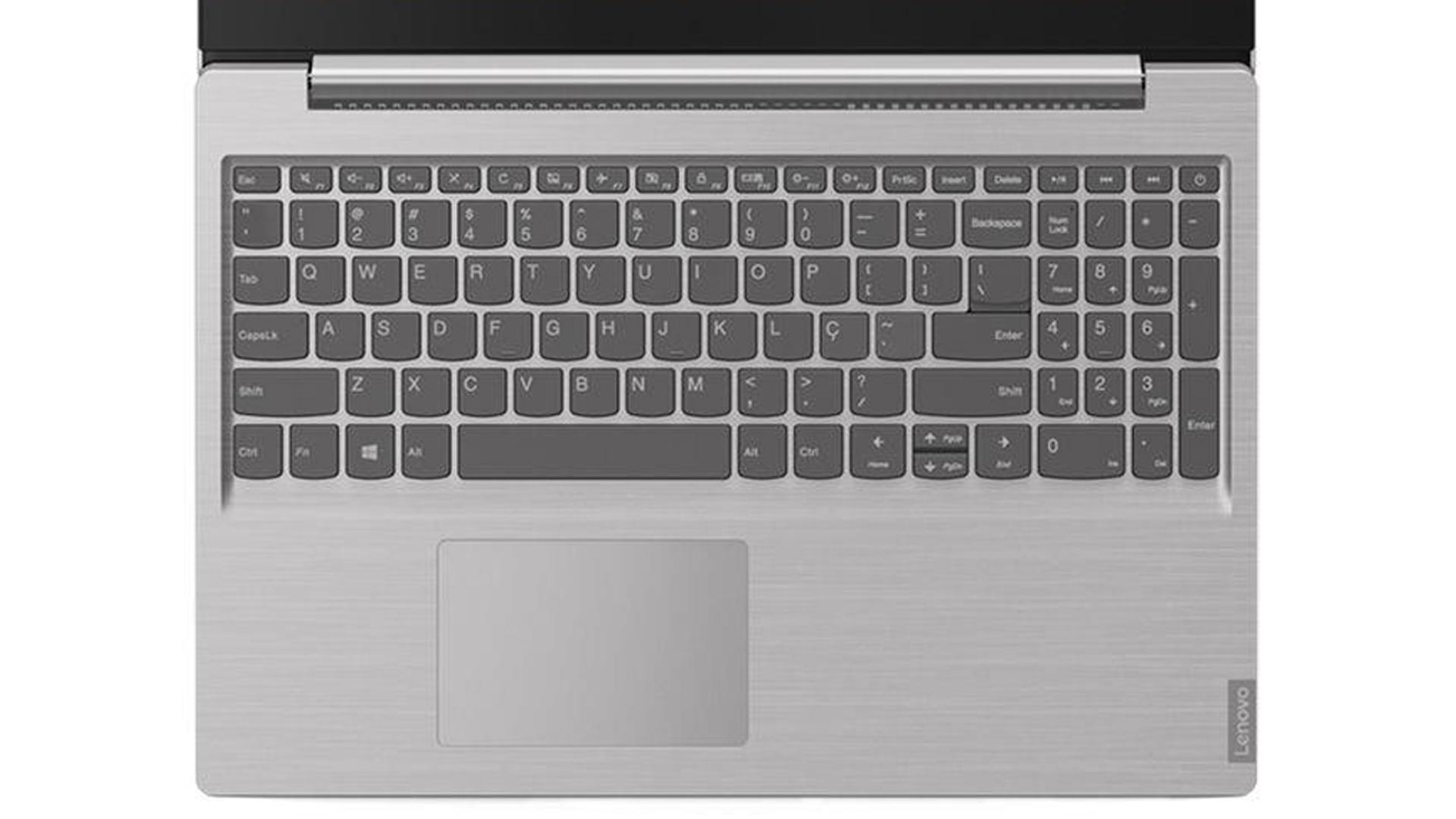 Teclado e touchpad do IdeaPad S145 (81S90005BR)