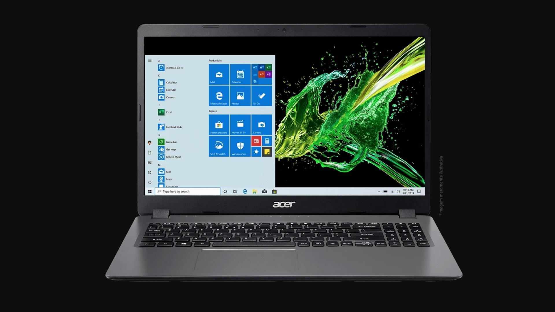 Tela do Acer Aspire 3 - A315-54-54B1