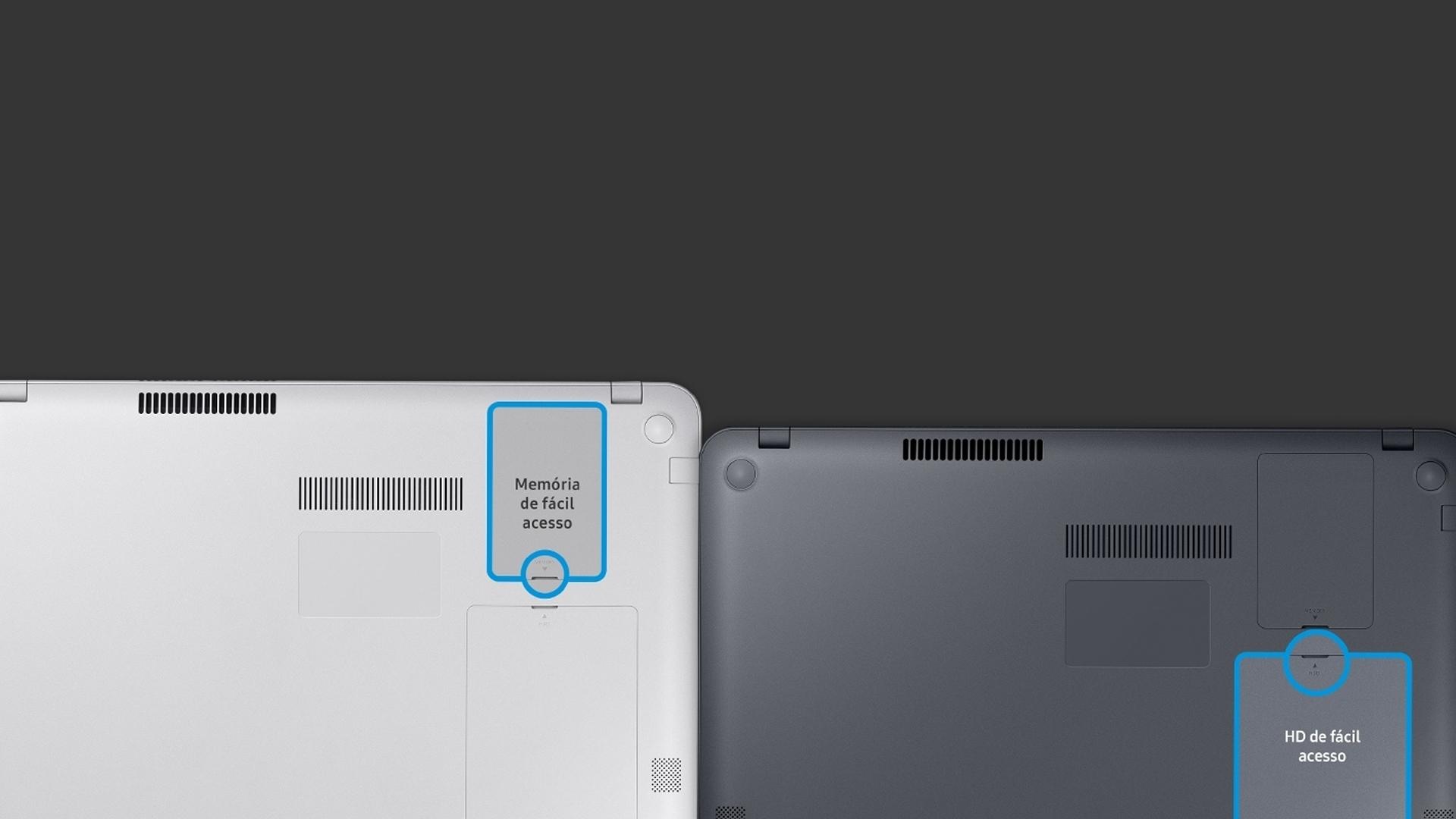 Traseira do Samsung Expert X40
