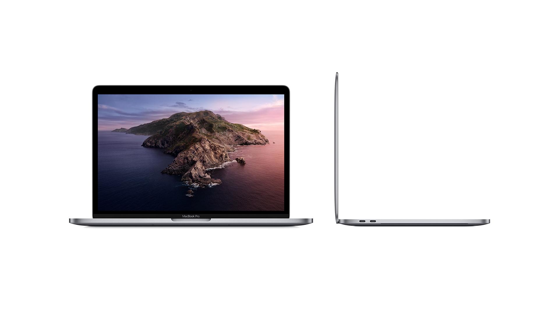 Entradas do Macbook Pro 13