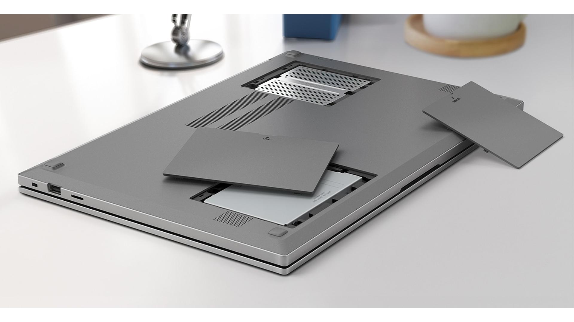 Traseira do Samsung Book E30