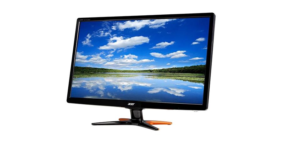Acer GN246HL: Design e acabamento