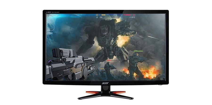 Acer GN246HL: Desempenho em jogos