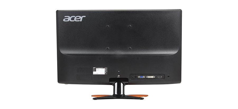 Acer GN246HL: Traseira