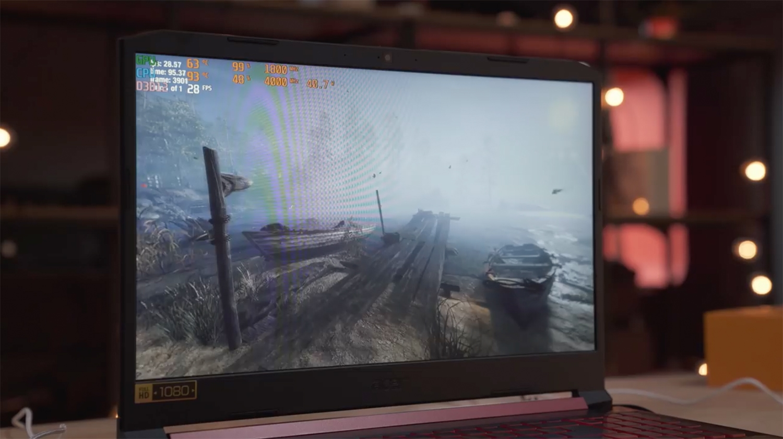Acer Nitro 5 : Tela