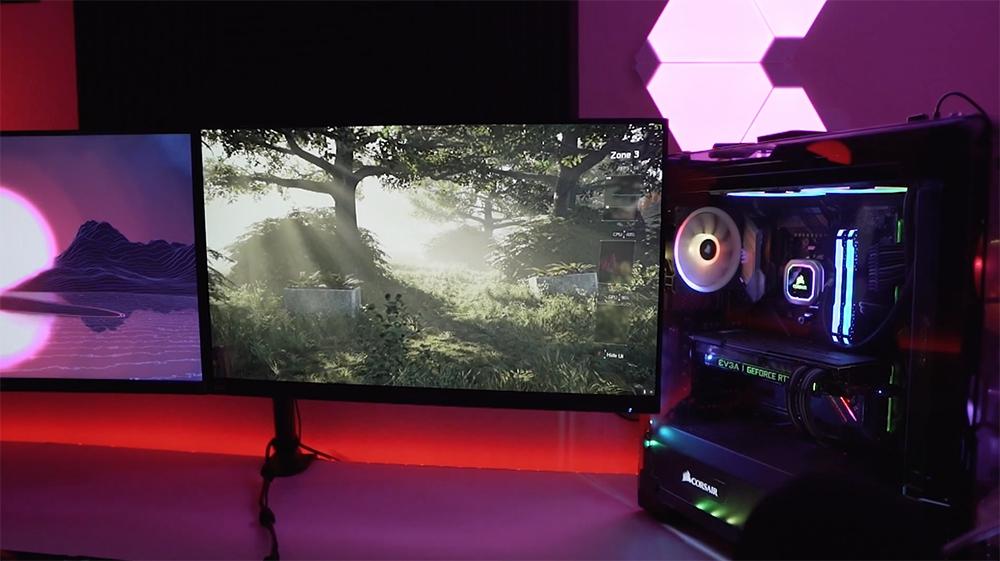 Acer Predator XB271HU: Desempenho em jogos