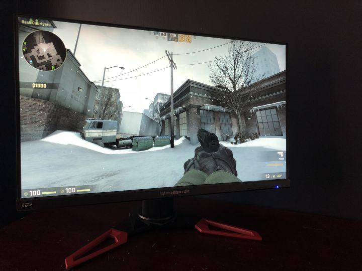 Acer Predator XB271HU: Painel IPS