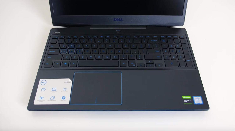Análise notebook gamer Dell G3: Interior