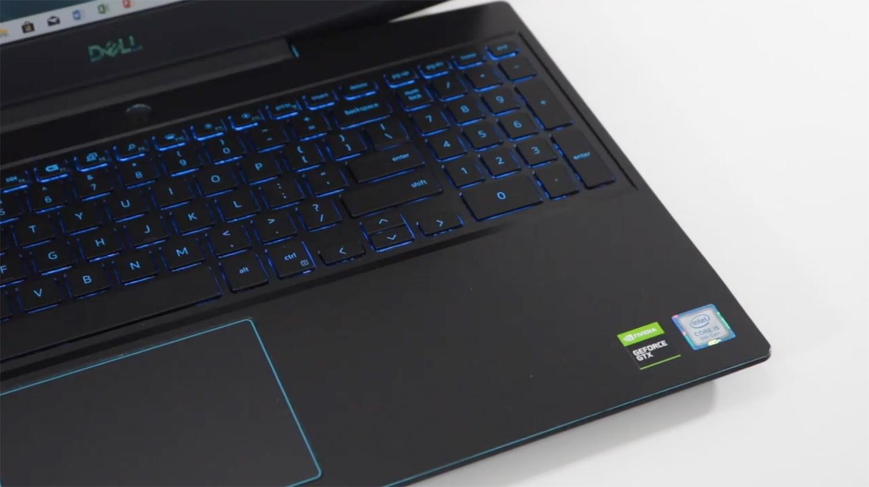 Análise notebook gamer Dell G3: Teclado e Touch