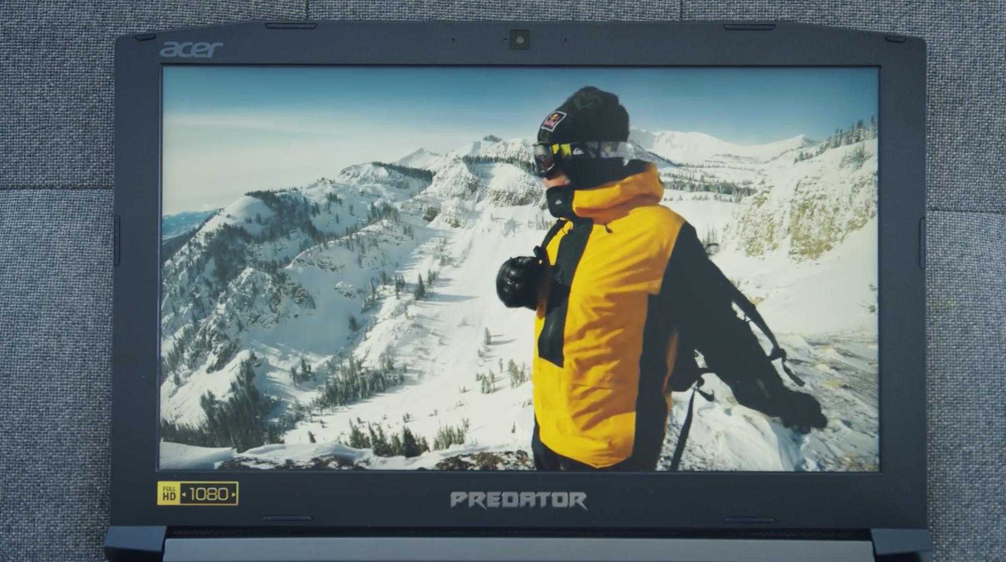 Análise Acer Predator Helio 300 G3: Tela